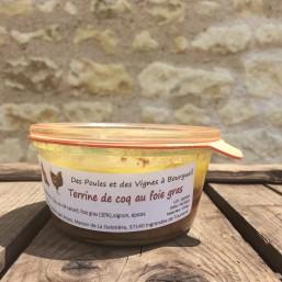 Terrine de coq au foie gras
